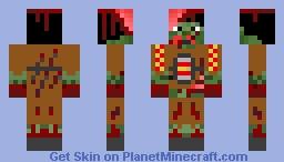 Experimental Zombie Minecraft Skin
