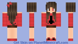 ❄хgσgglєsх❄ Strawberry and Chocolate [Flavour series] Minecraft Skin