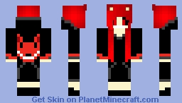 Creepypasta Grlz: Smile Dog Minecraft Skin