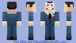 Stan Smith (American Dad) Minecraft