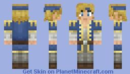 Weathered Traveller - Trista Wodeman Minecraft Skin