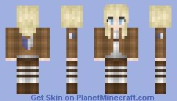 Krista || Atack on Titan || Minecraft Skin