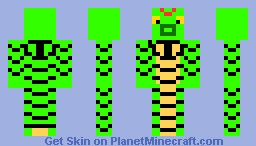 Caterpie Minecraft Skin