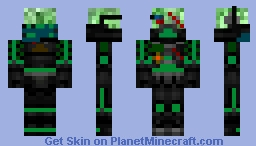 Creeper Empire Commander (CEC) Minecraft Skin