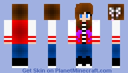 remake of one of my other skins Minecraft Skin