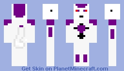 Freeza Minecraft Skin