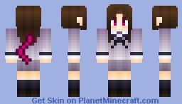 Hiyori Iki (1.8v) Minecraft Skin