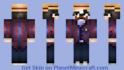 """Mr B """"The Gentleman Rhymer"""" Minecraft Skin"""