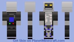 Robot Pet Minecraft Skin