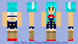 I am a Salior Minecraft Skin