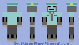 SecuriDriod XP Minecraft Skin