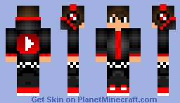 Youtube boy Minecraft Skin