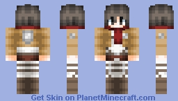 ❤∂αηιcα❤ - Mikasa | Attack On Titan ~Pop Reel~ Minecraft