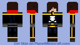 Captain Harlock Minecraft Skin