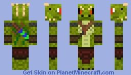 -=:ICE:=- Lizard (Skyrim Style?) -=:Modded Mobs Series!:=- Minecraft Skin