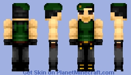 Sylvester Stalone (Amazing in 3d!) {XDInsanity's VG Character Contest} Minecraft