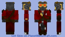 Star-Lord/Peter Jason Quill - Guardians Of The Galaxy Minecraft Skin