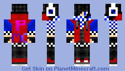Super Teen PMC! Rise of the Males Minecraft Skin