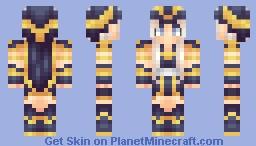 ღ•αgαρℓ00•ღ ~ ★ League Of Legends: Ashe. ❤ Minecraft Skin