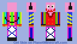 the fun and awesome skin Minecraft Skin