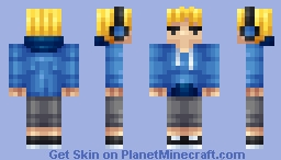 Blonde Hoodie [Requested] Minecraft Skin