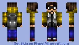 Myself!!! (Random, Boredom Creation.) Minecraft Skin