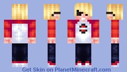 [Personal skin] Dave Strider- Homestuck Minecraft Skin