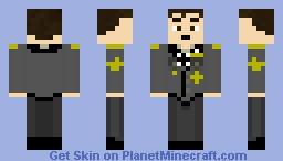 Hermann Otto Fegelein Minecraft Skin