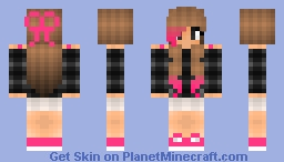I can't come up with a name ^_^ ✿♈∫✿ Minecraft Skin