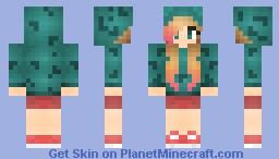 ●ɱɑɈɕɧɛɗ● Inspirations Pokemon ~ Ivysaur rawr :3 Minecraft Skin