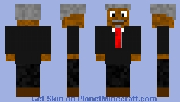 Morgan Freeman Minecraft Skin