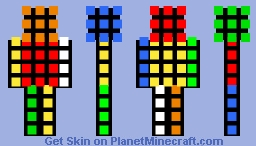 Mr.Rubix Minecraft Skin