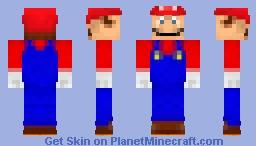 Mario (N64 Era) Minecraft Skin