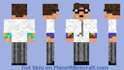 Newton Geiszler Minecraft Skin