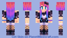 Rainbow Envy Minecraft Skin
