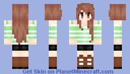 Are you ready for Summer? Minecraft Skin