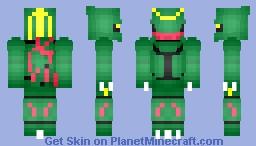 Rayquaza Minecraft Skin