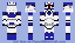 Star Wars The Clone Wars : Rocket Trooper Minecraft