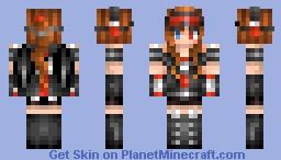 ҂ ƥixɾaɰɾ ҂ Futuristic Soldier/Police Girl?? idek Minecraft