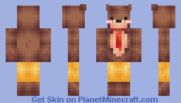 Teddddddy Bear! Minecraft Skin