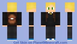 School boy [ With bag + Blonde! ] Minecraft Skin