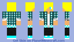 the awesome epic skin of cameron Minecraft Skin