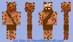 Caveman 2.0 Minecraft Skin