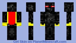 Ender King-First Detailed Skin Minecraft Skin