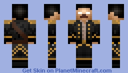 Herobrine Pirate Minecraft Skin