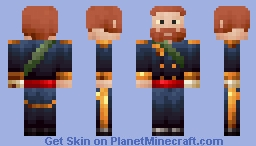 Maximilian I of Mexico Minecraft Skin