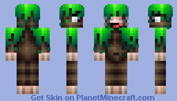 GRASS CAMO DUDE Aka Bob, what have you done Minecraft Skin
