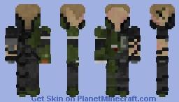 The Amazing Spiderman 2 Green Goblin 1.8 ONLY Minecraft Skin