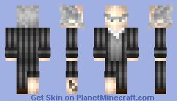 Count Olaf (Series of Unfortunate Events) Minecraft Skin