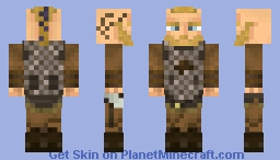 Ragnar Lothbrok [Vikings] (3D 1.8 Skin) | BETTER IN 3D | Minecraft